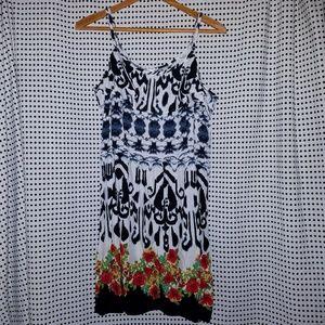 Xhilaration Dresses - Black & white dress